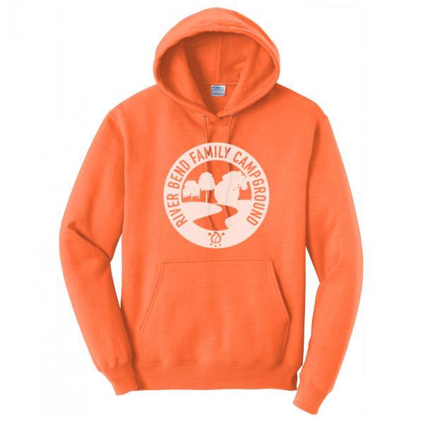 Orange Logo Hoodie